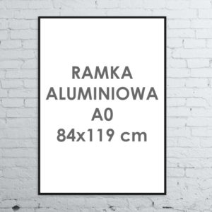 Rama aluminiowa ALU G3 A084×119 cm