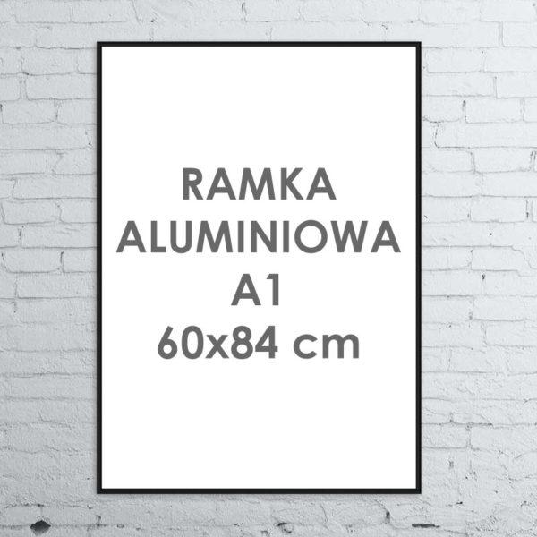 Rama aluminiowa ALU G3 A160×84 cm