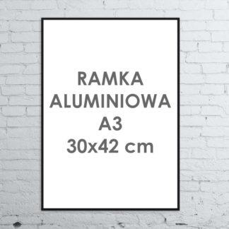 Rama aluminiowa ALU G3 A3 30×42 cm