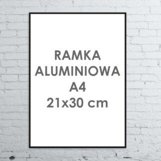 Rama aluminiowa ALU G3 A4 21×30 cm