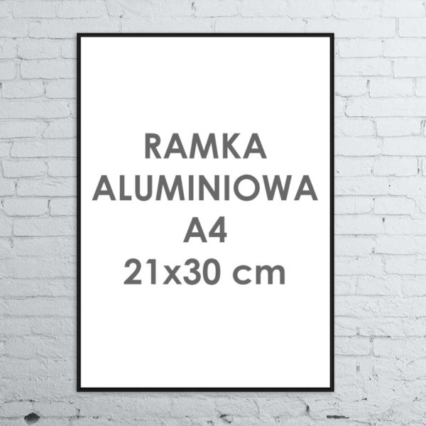 Rama aluminiowa ALU G3 A4 21x30 cm