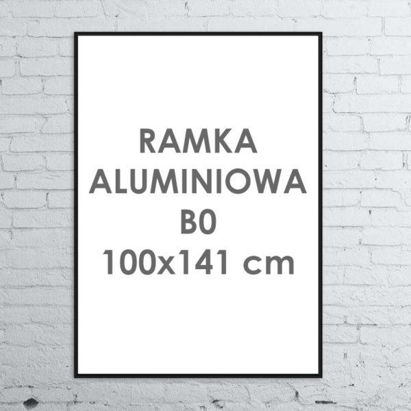Rama aluminiowa ALU G3 B0 100×141 cm
