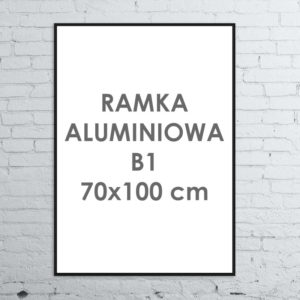 Rama aluminiowa ALU G3 B1 70×100 cm