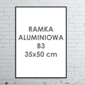 Rama aluminiowa ALU G3 B3 35×50 cm
