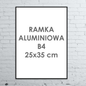 Rama aluminiowa ALU G3 B4 25×35 cm