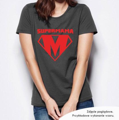 "Koszulka na Dzień Matki ""SUPERMAMA"""