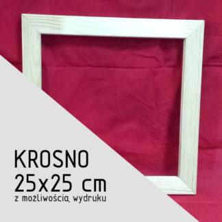 Krosno malarskie 25×25 cm (z możliwością wydruku)
