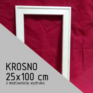 Krosno malarskie 25×100 cm (z możliwością wydruku)