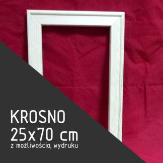 Krosno malarskie 25×70 cm (z możliwością wydruku)