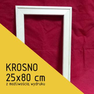 Krosno malarskie 25×80 cm (z możliwością wydruku)