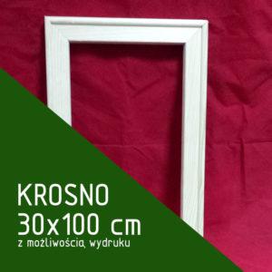 Krosno malarskie 30x100 cm (z możliwością wydruku)