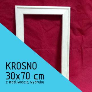 Krosno malarskie 30×70 cm (z możliwością wydruku)