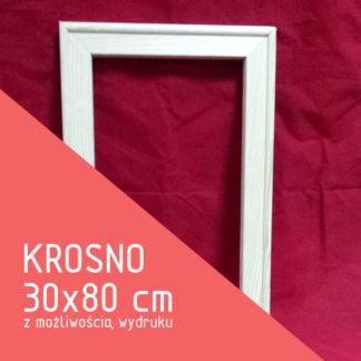 Krosno malarskie 30×80 cm (z możliwością wydruku)