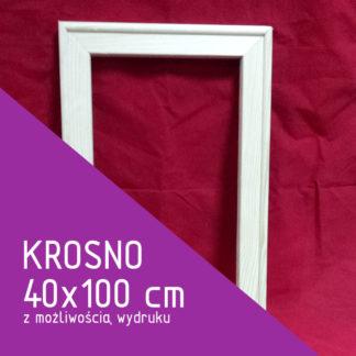 Krosno malarskie 40×100 cm (z możliwością wydruku)