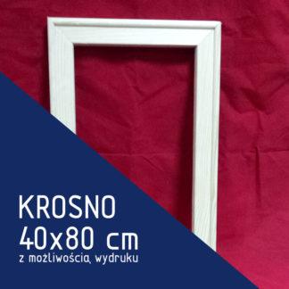 Krosno malarskie 40×80 cm (z możliwością wydruku)