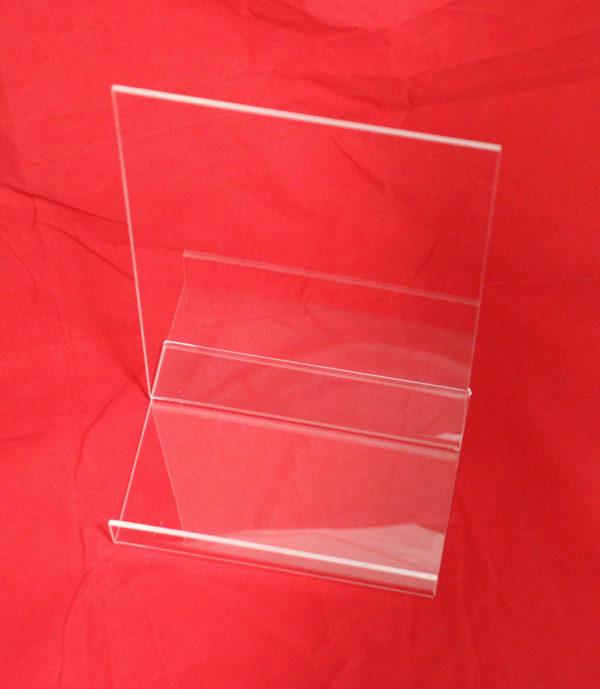 stojak z plexi na ulotki format A4 bez naklejki
