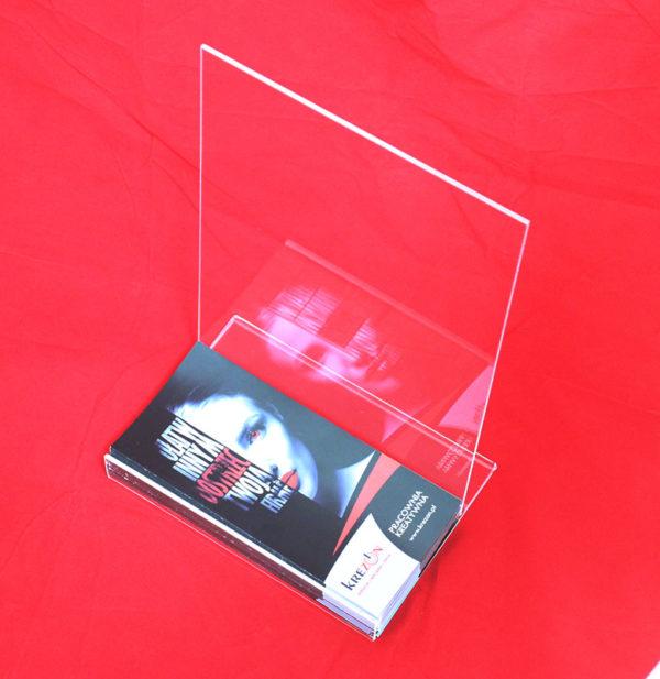 stojak z plexi na ulotki format A4