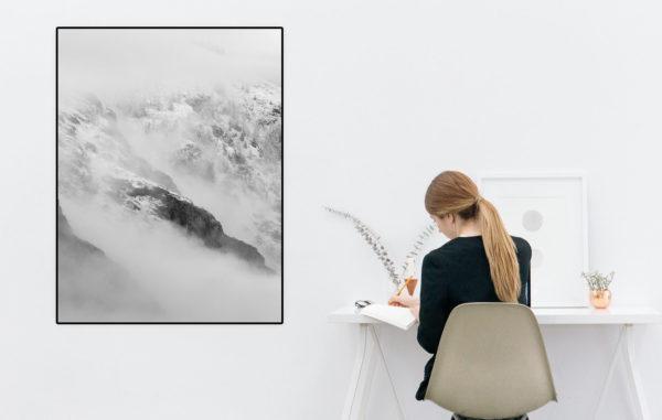 wydruk na papierze foto błysk na wymiar z ramką biuro