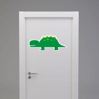 Naklejka na drzwi/meble DINOZAUR KROKODYL zielony