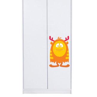 Naklejka na drzwi/meble POTWOREK POMARAŃCZOWY JAJKO