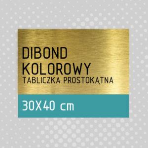 sklep z pomysłem Tabliczka DIBOND KOLOROWY 30x40 cm
