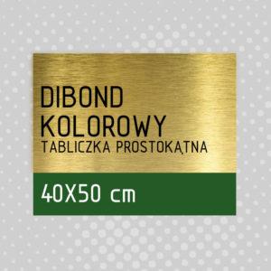 sklep z pomysłem Tabliczka DIBOND KOLOROWY 40x50 cm