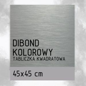 sklep z pomysłem Tabliczka DIBOND KOLOROWY 45x45 cm