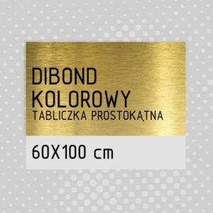 sklep z pomysłem Tabliczka DIBOND KOLOROWY 60x100 cm