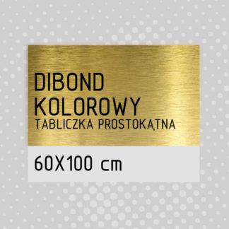 Tabliczka prostokątna DIBOND KOLOROWY 60×100 cm