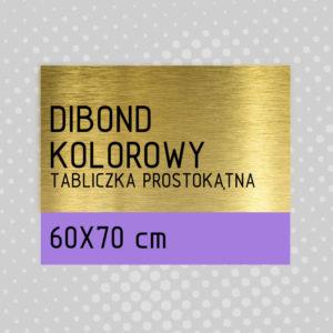 sklep z pomysłem Tabliczka DIBOND KOLOROWY 60x70 cm