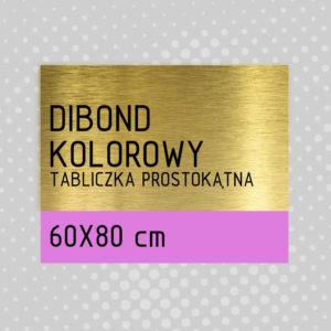 sklep z pomysłem Tabliczka DIBOND KOLOROWY 60x80 cm