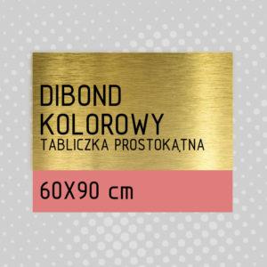 sklep z pomysłem Tabliczka DIBOND KOLOROWY 60x90 cm