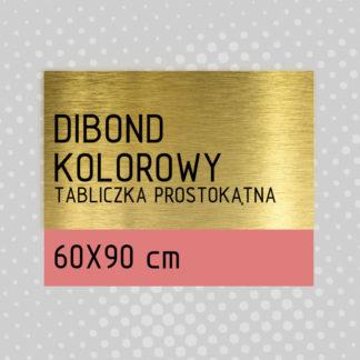 Tabliczka prostokątna DIBOND KOLOROWY 60×90 cm