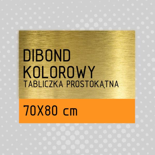 sklep z pomysłem Tabliczka DIBOND KOLOROWY 70x80 cm