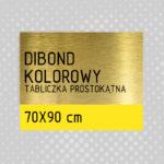sklep z pomysłem Tabliczka DIBOND KOLOROWY 70x90 cm