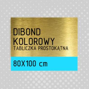 sklep z pomysłem Tabliczka DIBOND KOLOROWY 80x100 cm