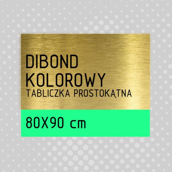 sklep z pomysłem Tabliczka DIBOND KOLOROWY 80x90 cm