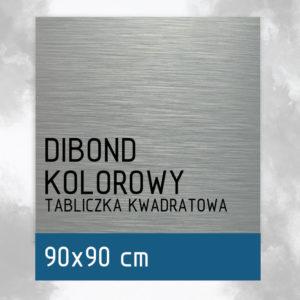 sklep z pomysłem Tabliczka DIBOND KOLOROWY 90x90 cm