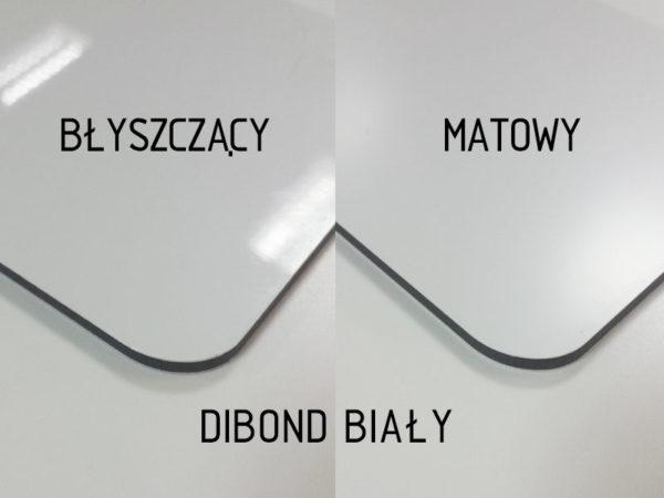 sklep z pomysłem dibond biały