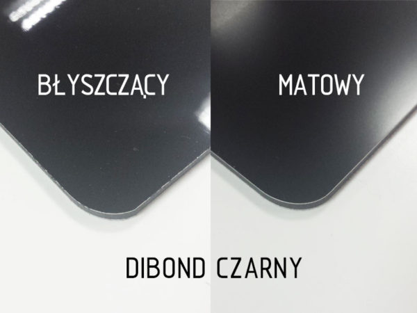 sklep z pomysłem dibond czarny