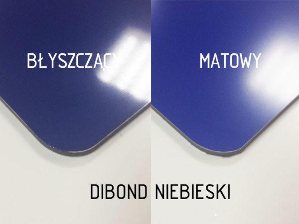 sklep z pomysłem dibond niebieski
