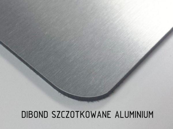 sklep z pomysłem dibond szczotkowane aluminium