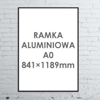 Rama aluminiowa ALU G3 A0841×1189 mm