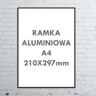 Rama aluminiowa ALU G3 A4 210×297 mm
