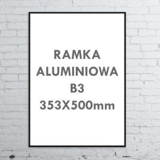 Rama aluminiowa ALU G3 B3 353×500 mm