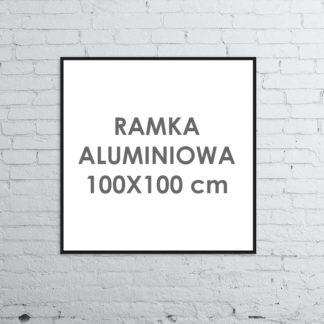 Rama aluminiowa kwadratowa ALU G3 100×100 cm