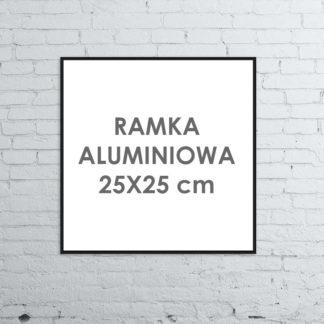 Rama aluminiowa kwadratowa ALU G3 25×25 cm