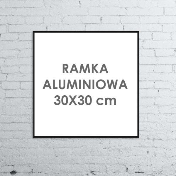 Rama aluminiowa kwadratowa ALU G3 30x30 cm