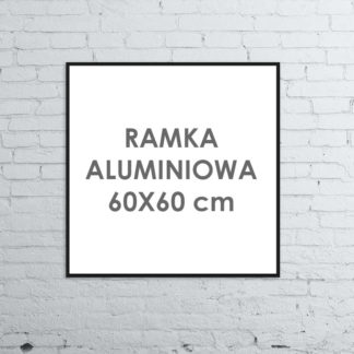 Rama aluminiowa kwadratowa ALU G3 60×60 cm