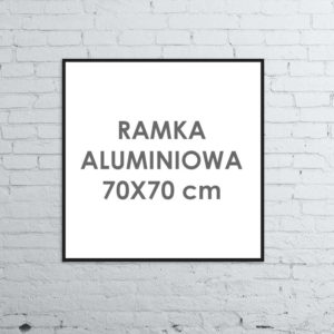 Rama aluminiowa kwadratowa ALU G3 70x70 cm